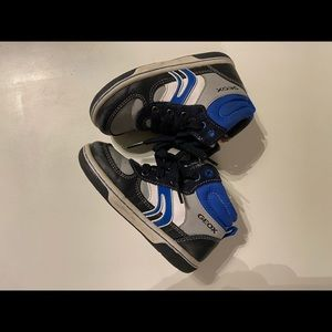 $25 Geox high top sneakers